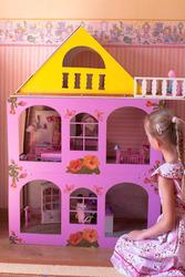 Разборной  кукольный домик. Самый лучший подарок для Девочки.