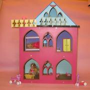 Разборной домик для кукол до 18см. в стиле Монстр Хай.