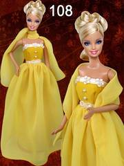 Бальные платья для кукол Барби