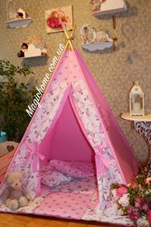 Вигвам,  детский домик,   игровая палатка,  шатер,  шалаш,  вігвам,  дитячий